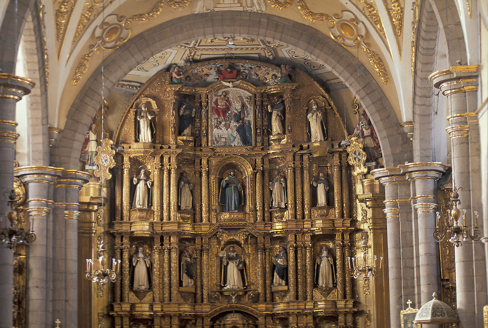 Templo de Santo Domingo de Guzman ,Puebla ,Mexico