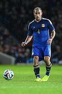 Pablo Zabaleta of Argentina during the International Friendly match at the Boleyn Ground, London<br /> Picture by David Horn/Focus Images Ltd +44 7545 970036<br /> 12/11/2014