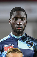 Baba Traore of Le Havre during the Ligue 2 match between Quevilly Rouen and Le Havre on October 27, 2017 in Rouen, France. (Photo by Anthony Dibon/Icon Sport)