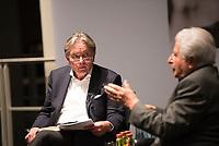 DEU, Deutschland, Germany, Berlin, 18.10.2017: Der Historiker Prof. Dr. Norbert Frei bei einer Veranstaltung der Friedrich Ebert Stiftung.