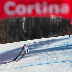 20120113: ITA, Alpine Ski - FIS Alpine Ski World Cup, Ladies Downhill in Cortina d'Ampezzo