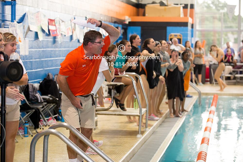 2014 Campbell University Swim Team vs Liberty