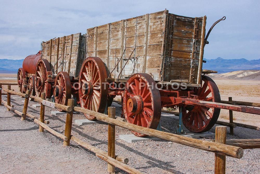Old Harmony Borax Works Death Valley