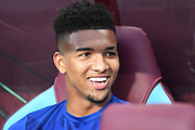 Everton defender Mason Holgate during the Premier League match between Aston Villa and Everton at Villa Park, Birmingham, England on 23 August 2019.
