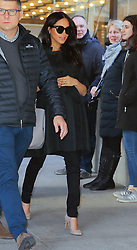 February 19, 2019 - New York, New York, United States - Meghan Markle leaves a building in Midtown Manhattan on February 19 2019 in New York City  (Credit Image: © Jo Robins/Ace Pictures via ZUMA Press)