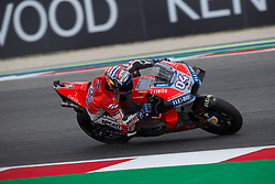September 7, 2018 - Rimini, RN, Italy - Andrea Dovizioso of Ducati Team during the free practice 2 of the OCTO Grand Prix of San Marino e della Riviera di Rimini, at Misano World Circuit Marco Simoncelli, on September 07, 2018 in Misano Adriatico, Italy  (Credit Image: © Danilo Di Giovanni/NurPhoto/ZUMA Press)