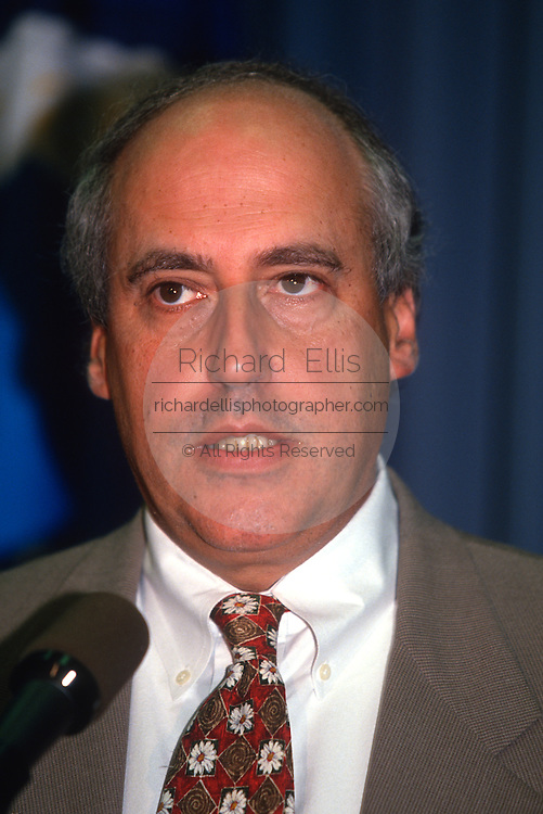 WASHINGTON, DC - August 29: Agricultural Secretary Dan Glickman speaks in Washington, DC. August 29, 1997  (Photo RIchard Ellis)