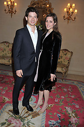 SAM WALEY-COHEN and his wife BELLA at Tatler's Jubilee Party in association with Thomas Pink held at The Ritz, Piccadilly, London on 2nd May 2012.