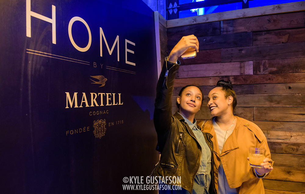 Martell Cognac event activation at Union Market in Washington, D.C.