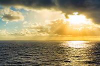 Sunrise On The Ocean in Maui, Hawaii
