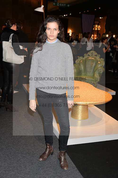 EVANGELINE LING at the PAD London 2014 VIP evening held in the PAD Pavilion, Berkeley Square, London on 14th October 2014.