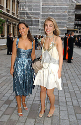 Left to right,      and SAHAR HASHEMI at the Royal Academy of Arts Summer Exhibition Preview Party held at Burlington House, Piccadilly, London on 2nd June 2005<br /><br />NON EXCLUSIVE - WORLD RIGHTS