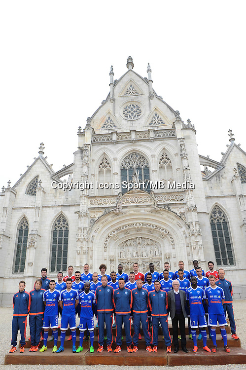 Equipe - 26.09.2015 - Photo officielle Bourg en Bresse Peronnas - Ligue 2<br /> Photo : Jean Paul Thomas / Icon Sport