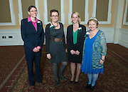 2015 Outstanding Administrator Award Winners (Let to RIght) Carey Bush, Roxanne Male'- Brune and Jneanne Hacker with Administrative Senate Chair Cathy Waller