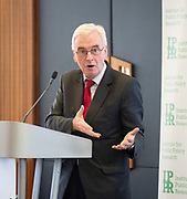 John McDonnell MP and Jo Swinson MP speak at launch of new IPPR centre for economic justice.<br /> At Congress Centre, London, Great Britain <br /> 9th May 20199 <br /> <br /> The UK in the Global Economy<br /> Introducing the IPPR Centre for Economic Justice<br /> <br /> The UK economy is not working. It no longer provides rising living standards for the majority, and as more and more people feel economically disenfranchised, the political consequences are being felt across society. Many of the causes of the UK's poor economic performance go back 30 years or more, pre-dating Brexit and the global financial crisis.<br /> <br /> Key trends in the global economy make the task of fundamental reform more urgent. The global slowdown in trade, the growth of debt in major economies and political uncertainty present risks to growth and stability. Environmental breakdown and technological change will have huge impacts on the sustainability and strength of our economic model.<br /> <br /> This event will coincide with the launch of the first discussion paper from the Centre for Economic Justice at IPPR, on how our economic model must change to meet the challenges ahead. The Centre for Economic Justice at IPPR is our flagship initiative to advance the work of the IPPR Commission on Economic Justice whose final report 'Prosperity & Justice: a Plan for the New Economy' was published in September 2018. The Patrons of the Centre are the Most Revd Justin Welby, Archbishop of Canterbury and Frances O'Grady, General Secretary of the Trades Union Congress.<br /> <br /> <br /> What does a sustainable growth model for the UK look like in the context of the changing global economy?<br /> <br /> Are we due another recession? How should policymakers prepare?<br /> <br /> How can we deliver prosperity and justice in light of these global trends?<br /> <br /> <br /> Paul Nowak, Deputy General Secretary, TUC<br />     <br /> Introduction to the Centre: Tom Kibasi Director, IPPR<br />     <br 