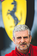 June 7-11, 2018: Canadian Grand Prix. Maurizio Arrivabene, team principal of Scuderia Ferrari