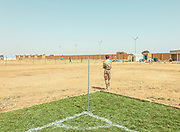 Niger, Hamdallaye, Sport in a refugee camp is not just entertainment. Taking part in a football final, learning the basics of basketball, focusing on the moves of a martial art or trying to make a wall in a volleyball game can help to overcome traumas and psychological wounds, as well as the sense of helplessness for what they suffered, and that of guilt, for being saved. This is one of the projects that, at the moment, are being carried out in Hamdallaye, Niger, where the UNHCR is trying to transfer refugees rescued from Libyan prisons and detention centers, waiting for the transition to safe countries, in Europe and the United States. At the beginning of November, thanks to the Milan Football Club Foundation, Hamdallaye inaugurated soccer, volleyball and basketball fields, thanks to which operators and educators will try to help refugees to leave behind their pain, to focus on the future.