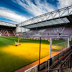 Hearts new stand taking shape at Tynecastle Park 26/10/2017