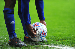 Junior Hoilett of Cardiff City places the ball fro a corner kick- Mandatory by-line: Nizaam Jones/JMP- 30/03/2018 -  FOOTBALL -  Cardiff City Stadium- Cardiff, Wales -  Cardiff City v Burton Albion - Sky Bet Championship