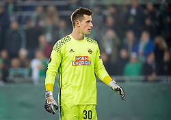 20.10.2016, Weststadion, Wien, AUT, UEFA EL, SK Rapid Wien vs US Sassuolo Calcio, Gruppe F, im Bild Richard Strebinger (SK Rapid Wien) // during a UEFA Europa League, group F game between SK Rapid Wien and US Sassuolo Calcio at the Weststadion, Vienna, Austria on 2016/10/20. EXPA Pictures © 2016, PhotoCredit: EXPA/ Sebastian Pucher