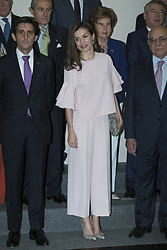 July 4, 2017 - Madrid, Spain - Queen Letizia of Spain attends 'Foundation Against Drugs' meeting at Distrito Telefonica on July 4, 2017 in Madrid, Spain. (Credit Image: © Oscar Gonzalez/NurPhoto via ZUMA Press)