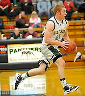 Clearview at Elyria Catholic boys high school varsity basketball on February 14, 2012.