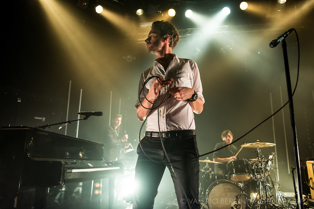 Editors live at the Cambridge Junction on 21 October 2015