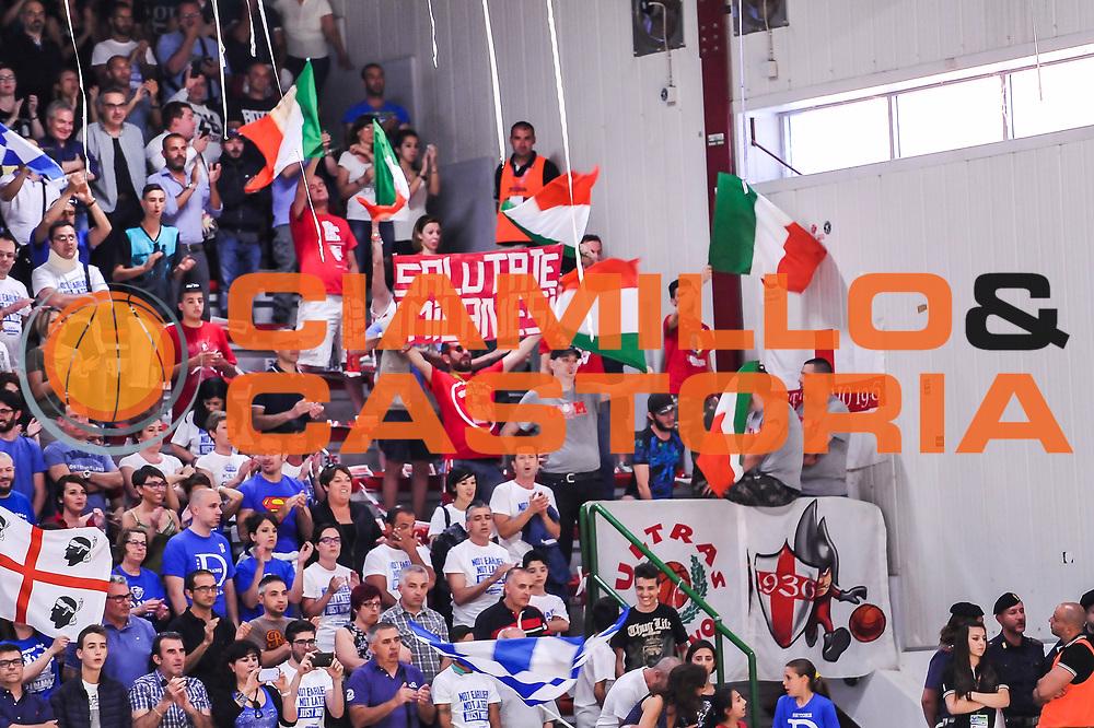 DESCRIZIONE : Campionato 2014/15 Dinamo Banco di Sardegna Sassari - Olimpia EA7 Emporio Armani Milano Playoff Semifinale Gara3<br /> GIOCATORE : Ultras Milano<br /> CATEGORIA : Ultras Tifosi Spettatori Pubblico<br /> SQUADRA : Olimpia EA7 Emporio Armani Milano<br /> EVENTO : LegaBasket Serie A Beko 2014/2015 Playoff Semifinale Gara3<br /> GARA : Dinamo Banco di Sardegna Sassari - Olimpia EA7 Emporio Armani Milano Gara4<br /> DATA : 02/06/2015<br /> SPORT : Pallacanestro <br /> AUTORE : Agenzia Ciamillo-Castoria/L.Canu