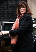UNITED KINGDOM, London: 1 March 2016. Education Secretary Nicky Morgan arrives in Downing Street to attend Cabinet meeting in central London.  Pic by Andrew Cowie / Story Picture Agency