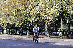 © Licensed to London News Pictures. 07/10/2014<br /> A sunny Autumn afternoon in Greenwich Park,Greenwich,London.<br /> (Byline:Grant Falvey/LNP)