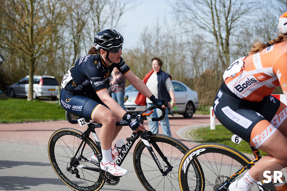 Lisa Brennauer (GER) at Healthy Ageing Tour 2018 - Stage 4, a 143 km road race starting and finishing in Winsum on April 7, 2018. Photo by Sean Robinson/Velofocus.com