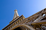 The Eiffel Tower at Paris Hotel on the Las Vegas Strip