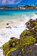 Niumalu Beach at Kailua Bay, Kailua-Kona, The Big Island, Hawaii