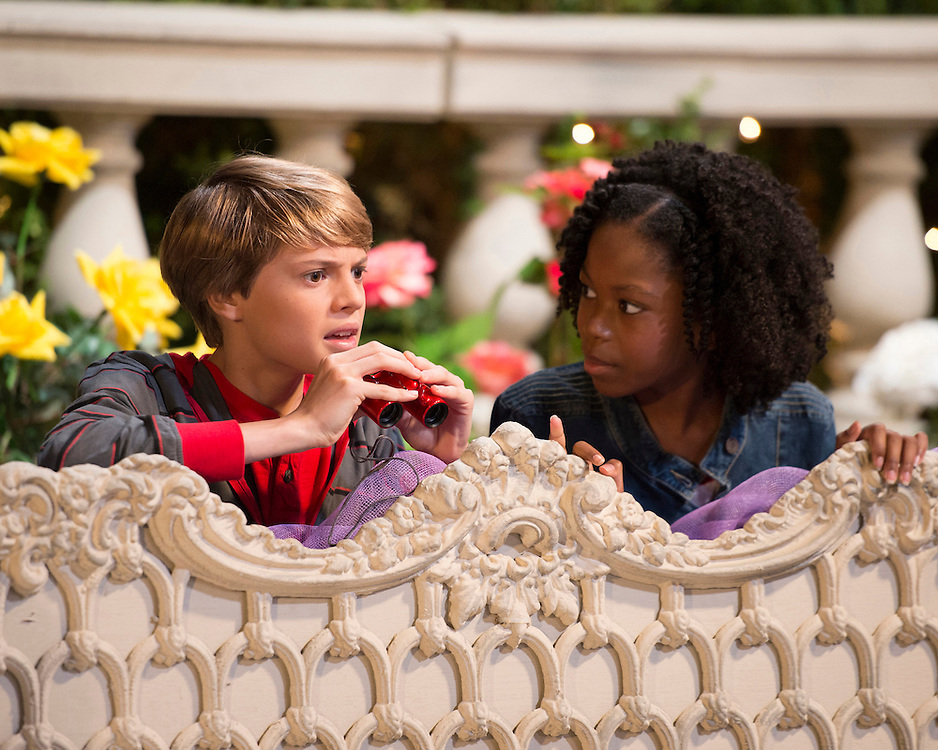 Jace Norman, Riele Downs in <br />