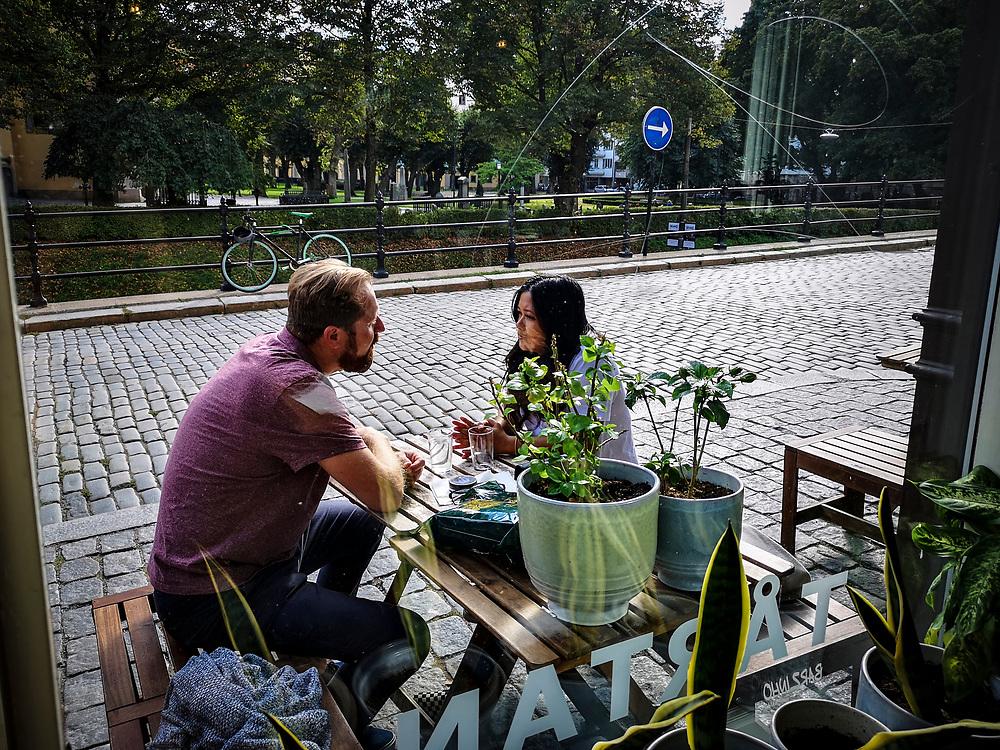 Café Tårtan på Hornsgatspuckeln.