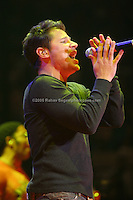 Nick Lachey performing at Madison Square Garden on December 15, 2006 during Z-100's Jingle Ball 2006. Z100.<br />