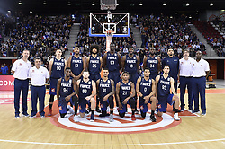 November 27, 2017 - Rouen, France - Equipe de france (France).Vincent Collet - Pascal Donnadieu - Paul Lacombe (90) - Boris Diaw (13) - Louis Labeyrie (25) - Moustapha Fall (93) - Mouhammadou Jaiteh (18) - Alain Koffi (34) - Laurent Foirest - Ruddy Nelhomme - .Lahaou Konate (94) - Axel Julien (83) - Edwin jackson (91) - Andrew Albicy (21) - Elie Okobo (0) - Axel Bouteillle  (Credit Image: © Panoramic via ZUMA Press)