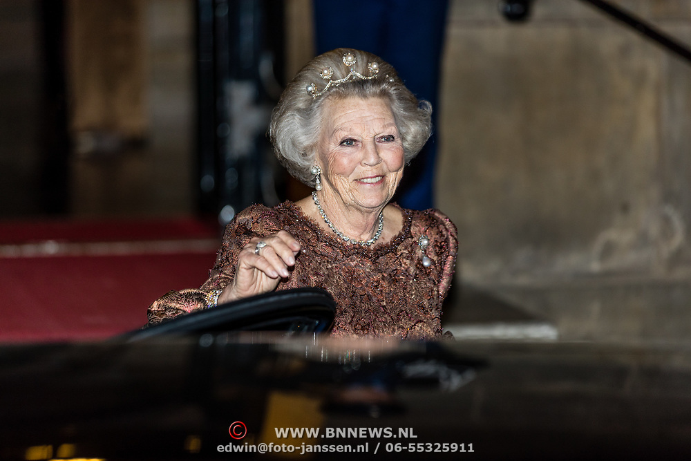NLD/Amsterdam//20170523 - Koningspaar bij het diner Corps Diplomatique, Prinses Beatrix