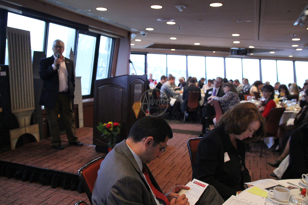 "Seattle Children's Museum Corporate Breakfast 2012. ""The Power of One. The Power of Many."" Kenny Alhadeff."