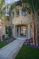 Palm Springs front garden exterior