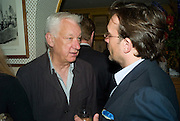 MICHAEL CRAIG-MARTIN, Richard Prince opening at the Serpentine gallery and afterwards at Annabels. London. 25 June 2008 *** Local Caption *** -DO NOT ARCHIVE-© Copyright Photograph by Dafydd Jones. 248 Clapham Rd. London SW9 0PZ. Tel 0207 820 0771. www.dafjones.com.