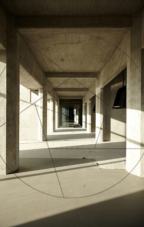 DLG-siloen Nordhavn, Unionkul, ombygning af kornsilo til luksuslejligheder, Klaus Kastbjerg, By & Havns udstillingslokaler efter renovering
