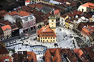 Piata Sfatului in Brasov, Romania