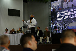March 22, 2019 - Valencia, Carabobo, Venezuela - March 22, 2019. The deputy to de national Assambly Marco Bozo, speaks to the presents to act of organization whit the community for take the exit of the dictatorial ship Nicolas Maduro. In Valencia, Carabobo state. Photo: Juan Carlos Hernandez (Credit Image: © Juan Carlos Hernandez/ZUMA Wire)