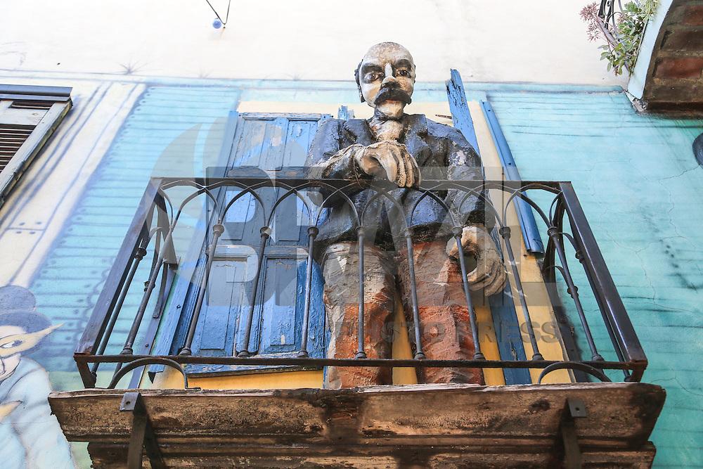Caminito Vista Point Tourist City of Buenos Aires in Argentina.  (Photo: Vanessa Carvalho / Brazil Photo Press).