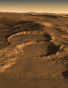 Radar Indicates Buried Glaciers on Mars