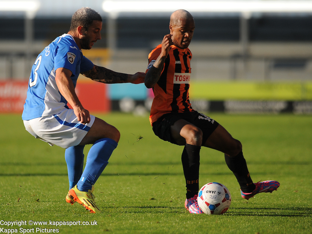 Mauro Vilhete Barnet FC, Barnet v Eastleigh, Vanarama Conference, Saturday 4th October 2014