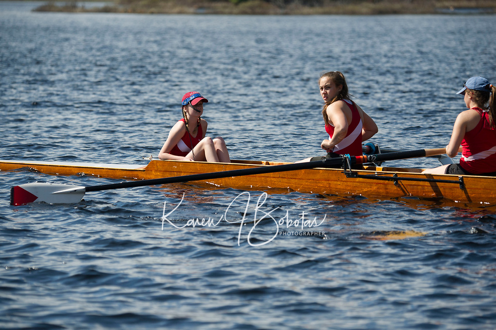 St Paul's School crew meet. ©2018 Karen Bobotas Photographer