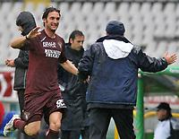 "Rolando Bianchi (Torino)<br /> Torino 26/04/2009 Stadio ""Olimpico"" <br /> Campionato serie A Tim 2008/2009<br /> Torino-Siena (1-0)<br /> Foto Bigio Insidefoto"