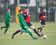 - Hilltown Hotspur (green) v AC Harleys (red) in the Dundee Saturday Morning Football League at Craigie 3G, Dundee - Photo: David Young, <br /> <br />  - © David Young - www.davidyoungphoto.co.uk - email: davidyoungphoto@gmail.com